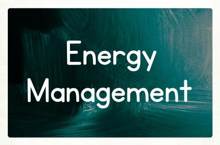 concept de gestion de l'énergie Banque d'images