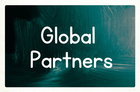 forwarding agency: global partners concept Stock Photo