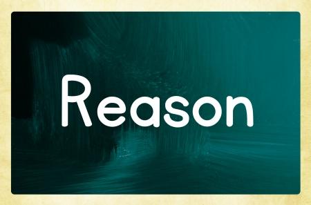 deduce: reason concept Stock Photo