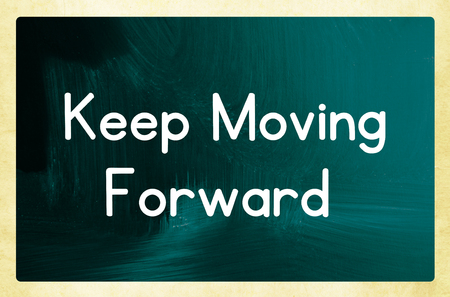 keep moving forward photo