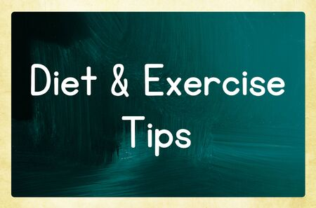 diet & exercise tips photo