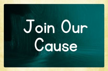 join our cause concept photo