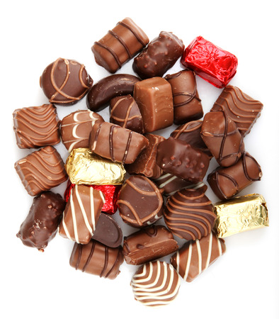 Assorted Fine Chocolates Banque d'images