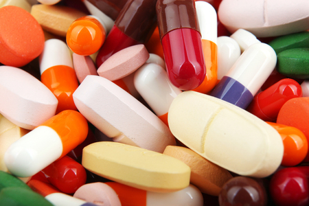uppers: pills and capsules