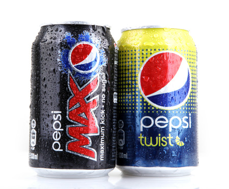carbonated: AYTOS, BULGARIA - MARCH 14, 2014: Global brand of fruit-flavored carbonated soft drinks created by PepsiCo. Editorial