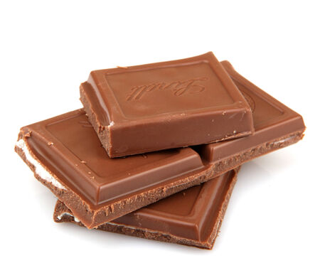 AYTOS, BULGARIA - MAY 10, 2014: Lindt Swiss milk chocolate. Lindt is recognized as a leader in the market for premium quality chocolate. Editorial