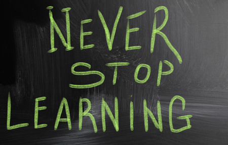 never stop learning photo