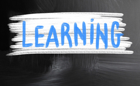 encapsulate: learning handwritten with chalk on a blackboard