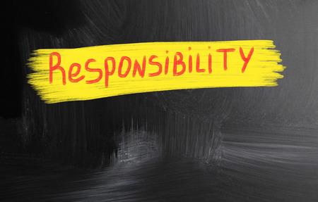 valores morales: responsabilidad