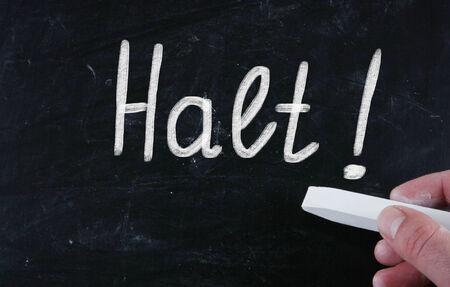 halt: halt concept