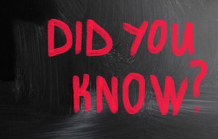 did: did you know?