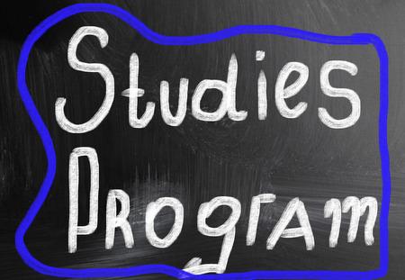 summarize: studies program concept