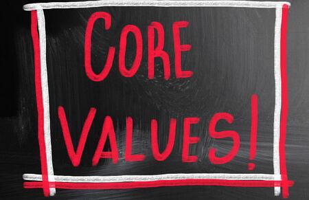 scruples: core value concept