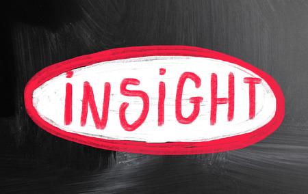 the sixth sense: insight concept