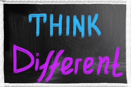 actitud positiva: pensar diferente