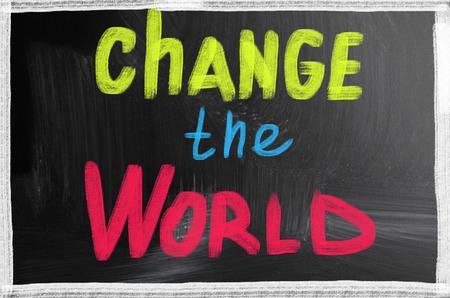 change the world photo