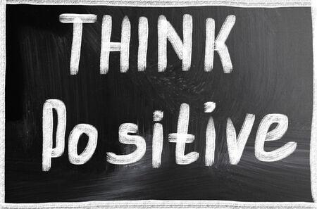 think positive photo