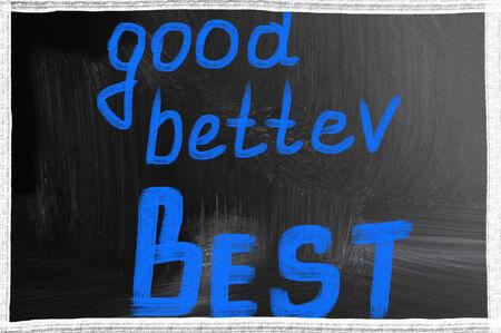 good better best: good better best