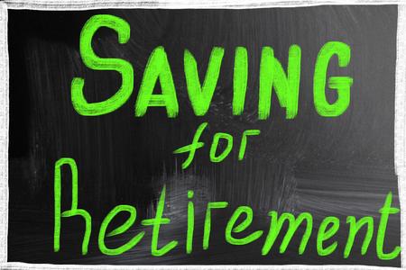 saving for retirement photo