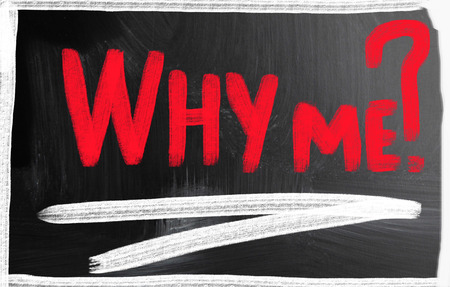 why me concept Stock Photo