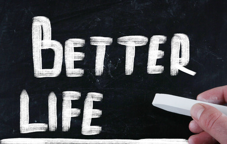 better life concept photo
