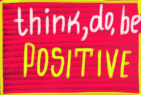 think do be positive photo