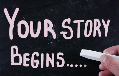 your story begins... photo