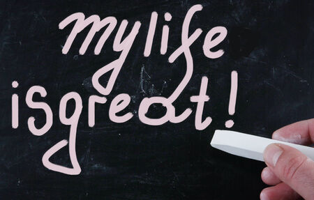 mindfulness: my life is great