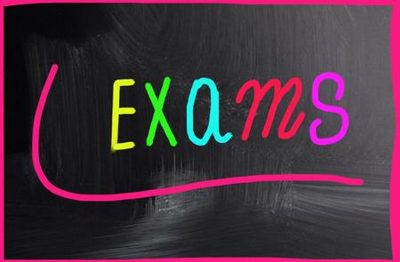 encapsulate: exams concept