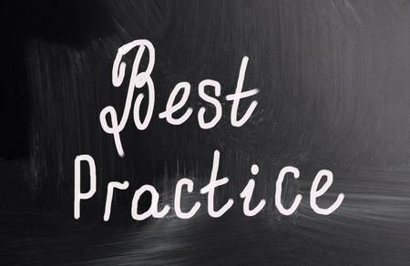 best practice: best practice Stock Photo