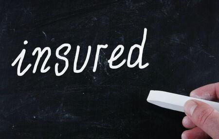 insured concept photo