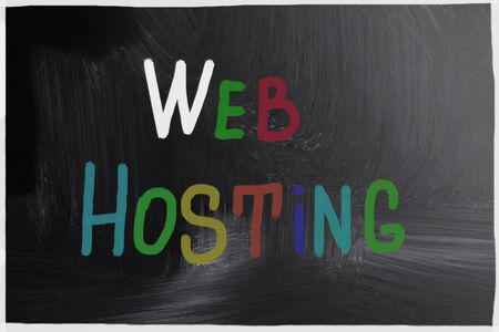 web hosting concept photo