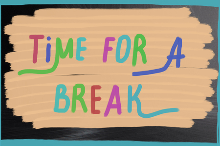 time fir a break photo