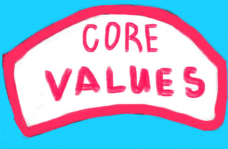 core values concept photo