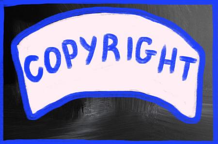 data protection act: copyright concept