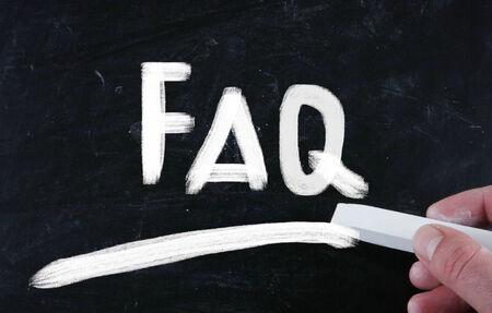 general knowledge: faq concept
