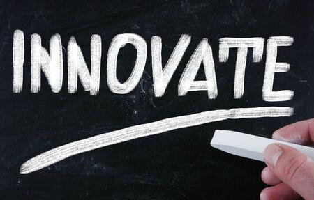 innoveren: innoveren begrip Stockfoto