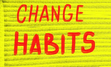 habits: change habits