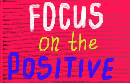 focus on the positive photo
