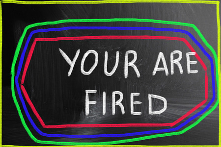 expel: your are fired concept