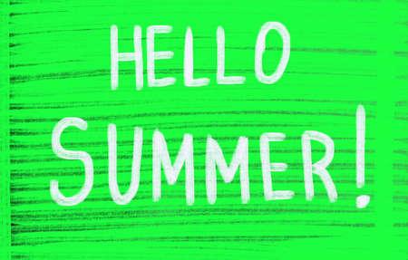 hello summer! Reklamní fotografie