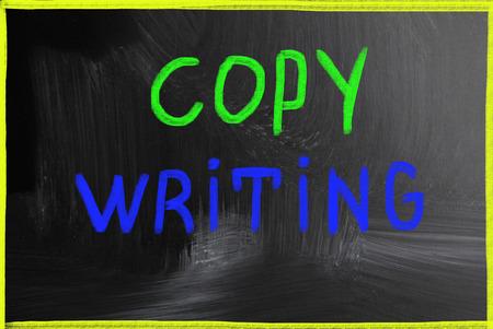 copywriting:  copywriting concept Stock Photo