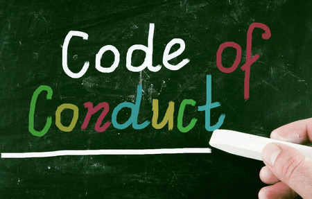 code of conduct concept