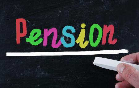 pension concept photo