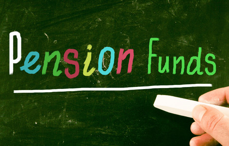 pension funds concept photo