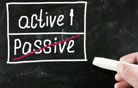 active concept photo