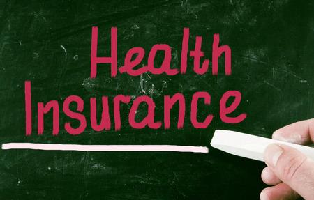 obama care: health insurance concept Stock Photo