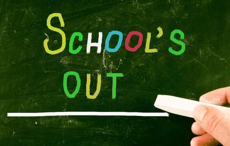 recap: schools out concept