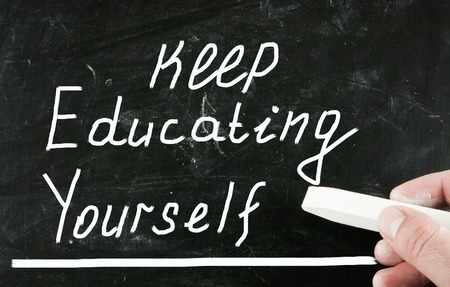 encapsulate: keep educating yourself concept