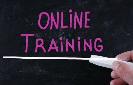 online training concept photo